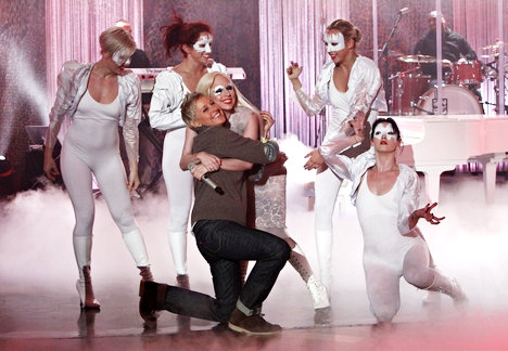 Video: Lady GaGa Performs on 'The Ellen DeGeneres Show'
