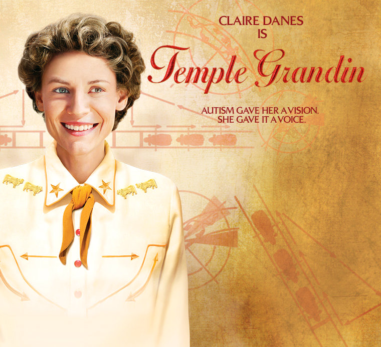 First Trailer to 'Temple Grandin' Starring Claire Danes