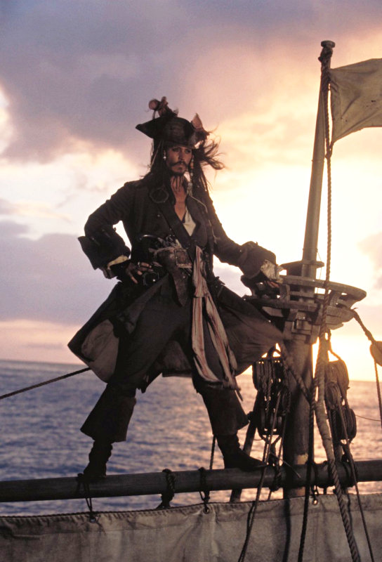 'Pirates of the Caribbean 4' Set to Sail With Johnny Depp in June