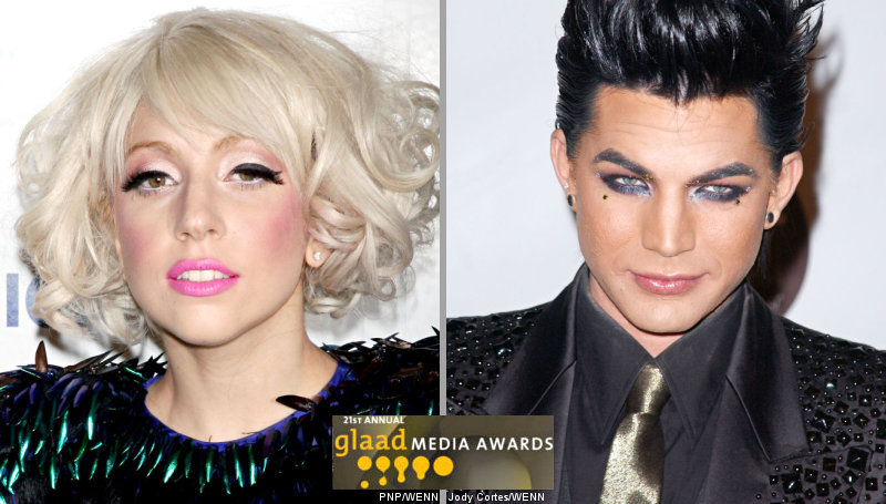 Lady GaGa Up Against Adam Lambert for GLAAD Outstanding Artist