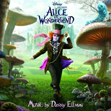 Soundtrack Listing for 'Alice in Wonderland' Unveiled