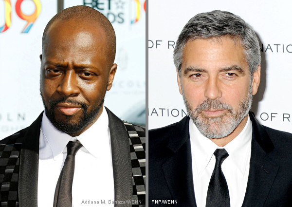 Wyclef Jean and George Clooney Reveal Some 'Hope for Haiti' Songs