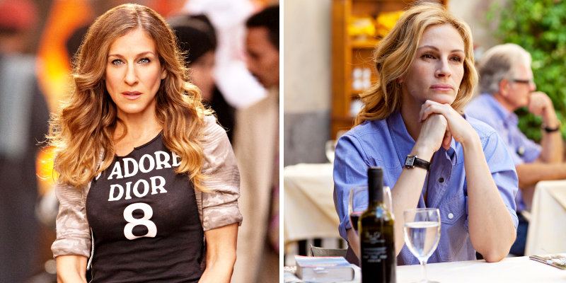 New Images From 'Sex and the City 2' and 'Eat, Pray, Love' Found