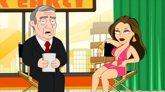 First Look: Tila Tequila on 'The Cleveland Show'