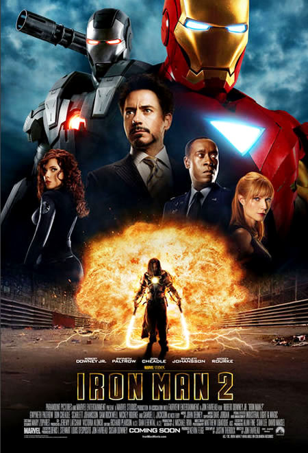 New 'Iron Man 2' Poster Brings Together the Villains and Vigilantes