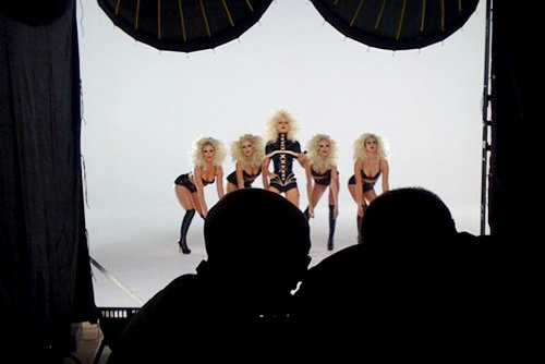Picture of Christina Aguilera's 'Not Myself Tonight' Video Shoot