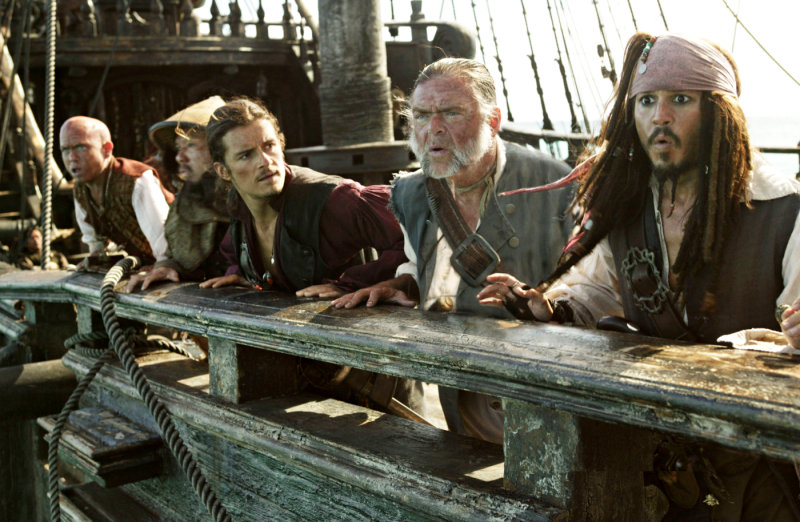 'Pirates of the Caribbean: On Stranger Tides' to Be Shot in 3-D