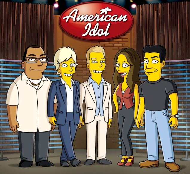 Preview: 'American Idol' Judges on 'The Simpsons' Finale