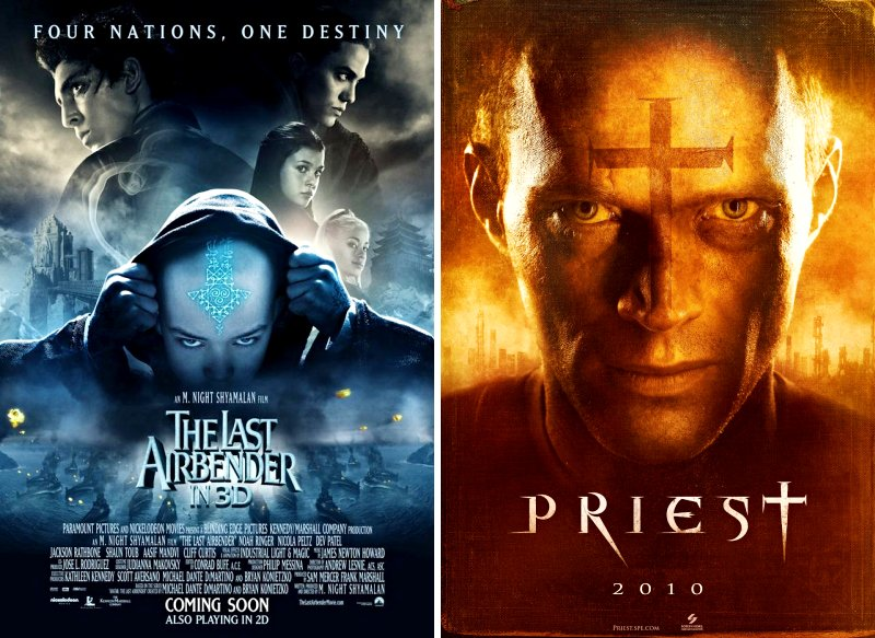 'Last Airbender' Comes Earlier, 'Priest' Pushed Back