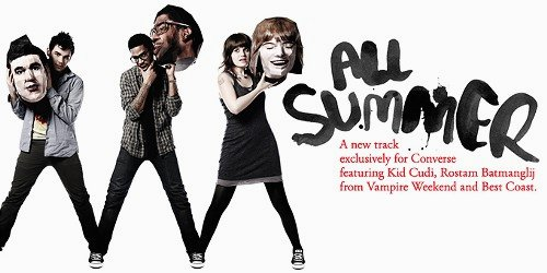 'All Summer' Video Ft. Kid Cudi, Rostam Batmanglij and Bethany Cosentino