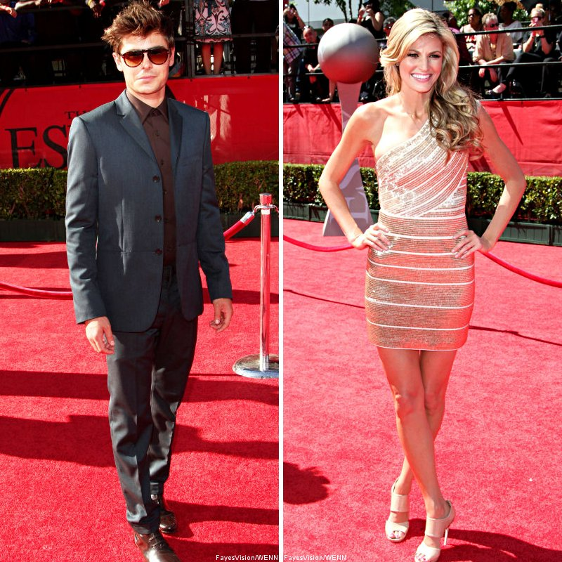 Zac Efron, Erin Andrews and More Glam Up 2010 ESPY Awards