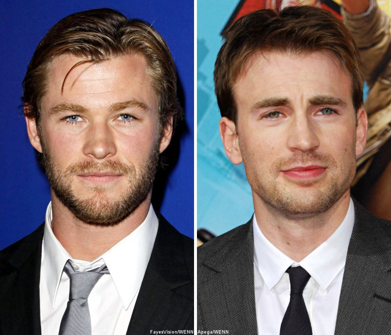 Chris Hemsworth and Chris Evans to Attend Marvel Movie Signings at Comic Con