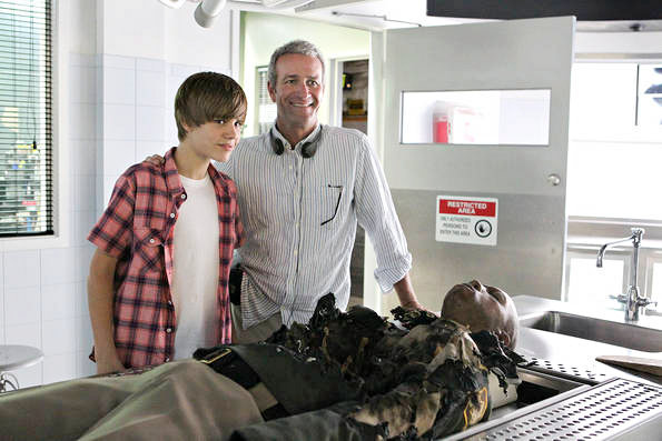 More Justin Bieber Pics on 'CSI: Crime Scene Investigation'