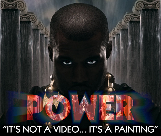 Behind the Scenes of Kanye West's 'Power' Video Emerges, Featuring Nudity
