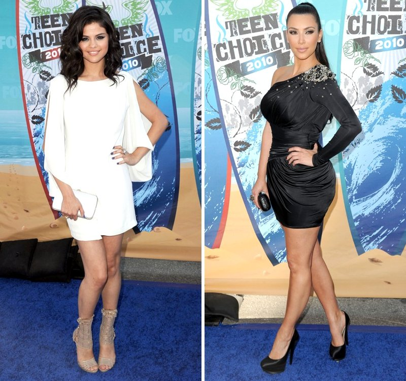 Selena Gomez, Kim Kardashian and More Brighten Up 2010 Teen Choice Awards
