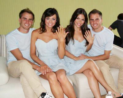 'The Bachelor' Holly Durst and DeAnna Pappas Engaged to Stagliano Twins