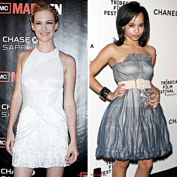 'X-Men: First Class': January Jones Is Emma Frost, Zoe Kravitz Could Be Angel