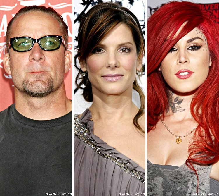 Jesse James Calls Sandra Bullock, Assuring Her He's Not Dating Kat Von D