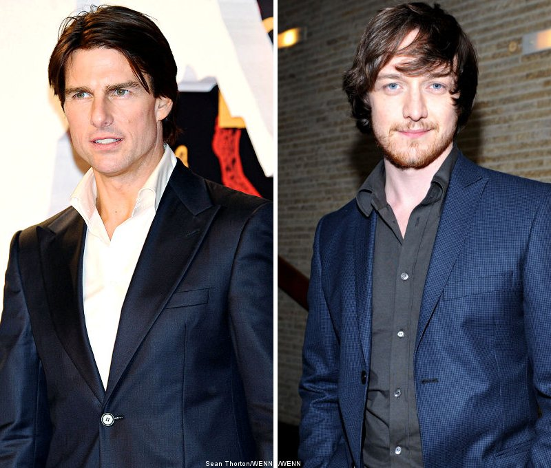 Tom Cruise and James McAvoy Racing to Climb 'The Mountains of Madness'