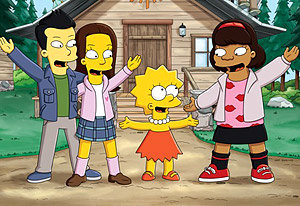 First 'Simpsons' Promo Featuring 'Glee' Kids