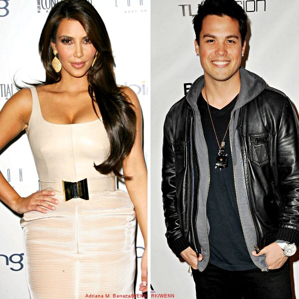 Kim Kardashian and Michael Copon 'Are So Not Dating'