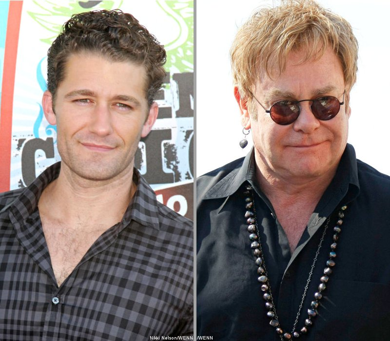 Matthew Morrison and Elton John to Record a Duet