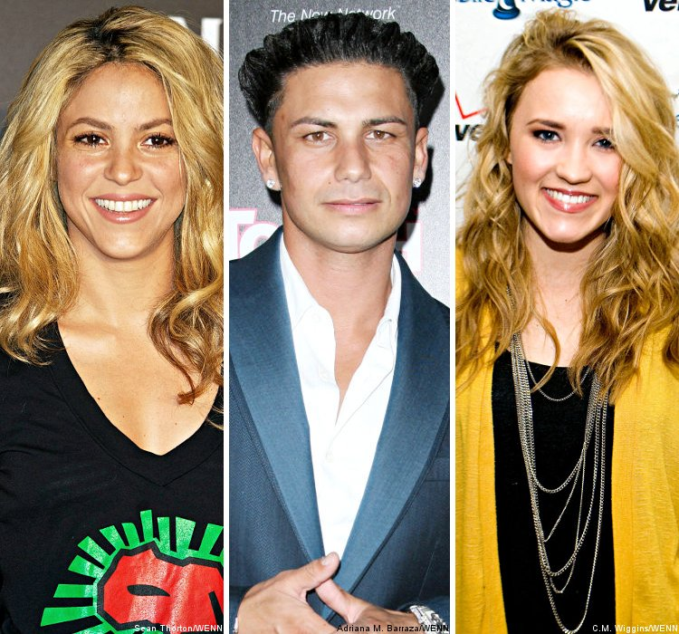 Shakira, 'Jersey Shore' Star and Emily Osment Added to MTV EMAs Line-Up