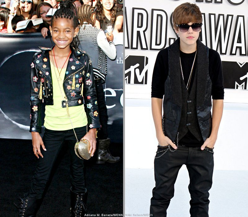 Video: Willow Smith Joining Justin Bieber on Stage at Staples Center