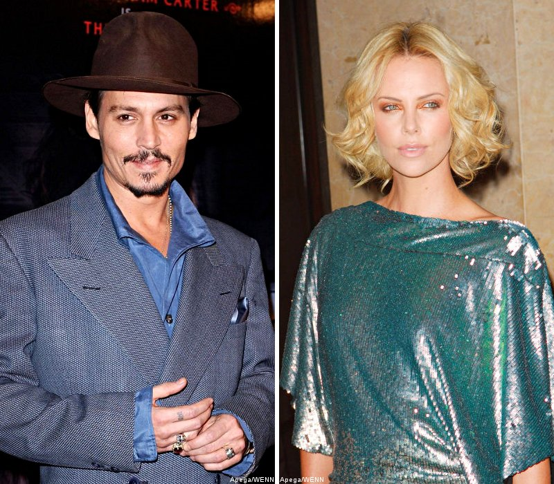Johnny Depp and Charlize Theron Courted for 'Snow White and the Huntsman'