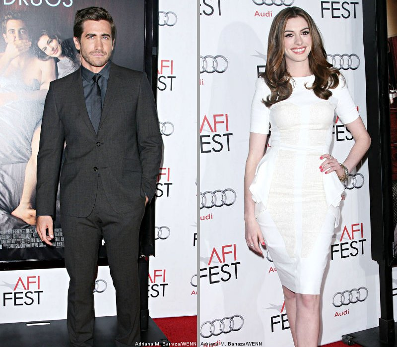 Jake Gyllenhaal and Anne Hathaway Pair Up at 'Love and Other Drugs' Premiere
