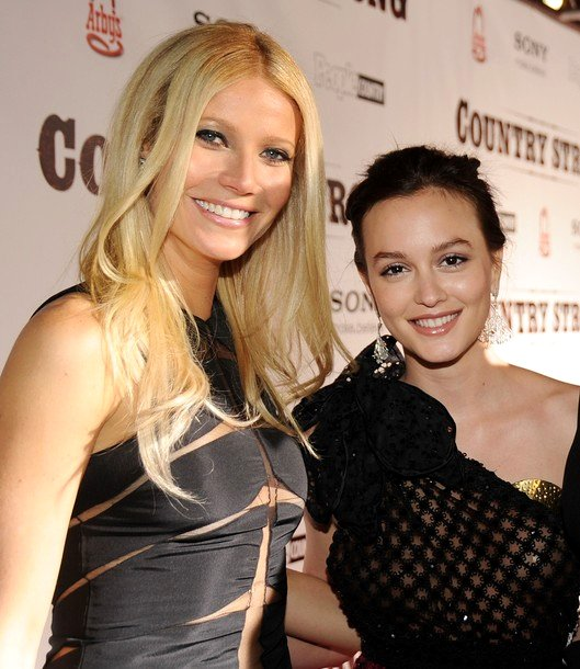 Gwyneth Paltrow and Leighton Meester Premiere 'Country Strong'