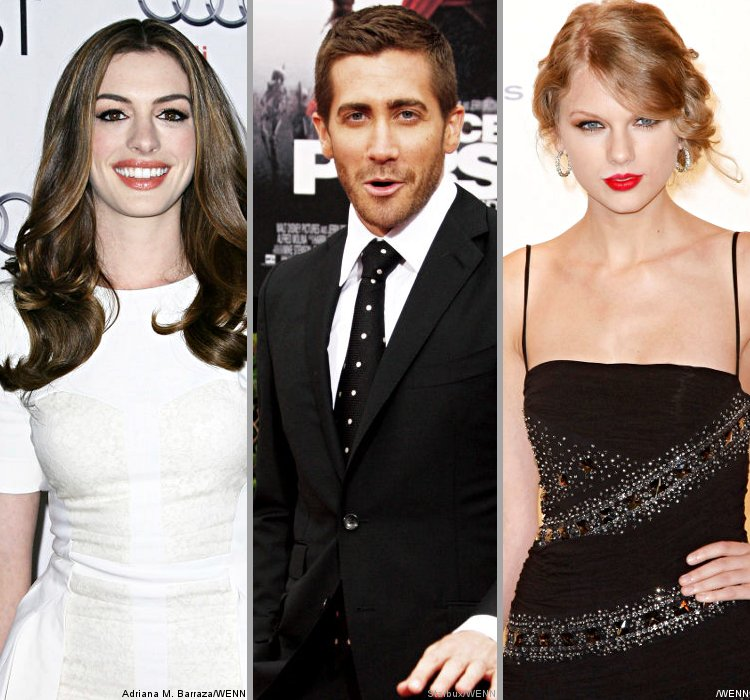Anne Hathaway 'Jealous' Of Jake Gyllenhaal And Taylor