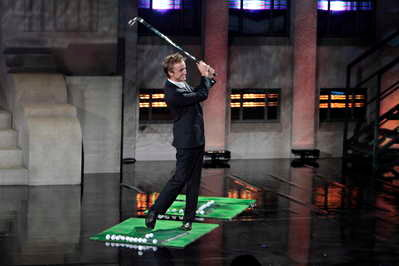 Video: Tom Felton Breaking Things With Golf Stick on 'Lopez Tonight'