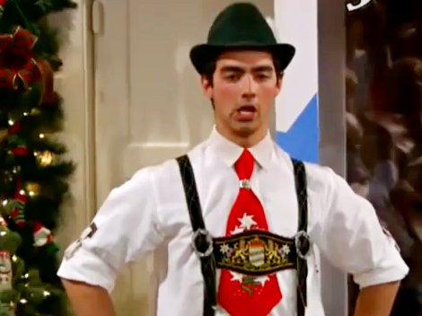 'Sonny with a Chance' Sneak Peek: Joe Jonas Yodeling