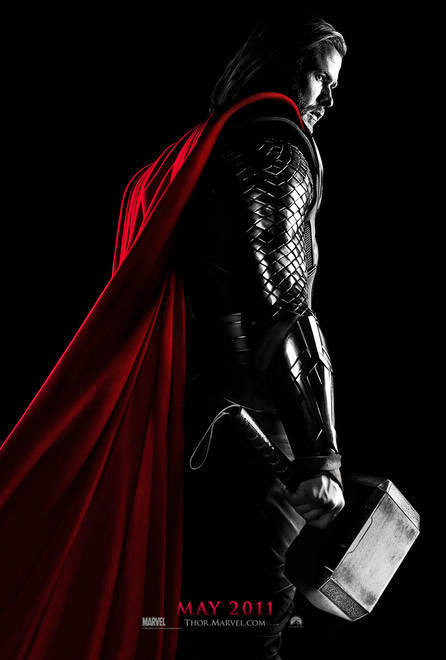 First Official Teaser Poster of 'Thor' Is Dark