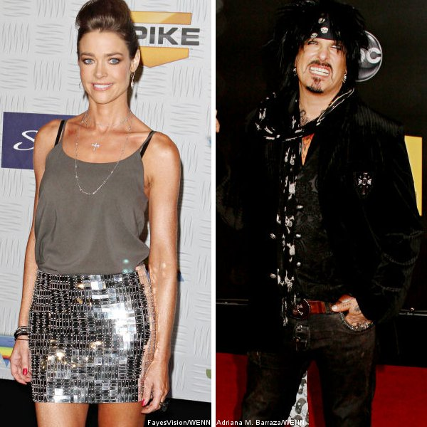Denise Richards Confirms Having Dates With Nikki Sixx