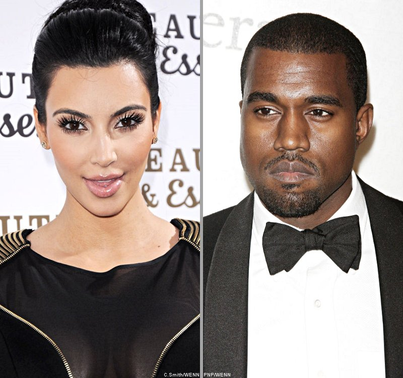 Kim Kardashian and Kanye West Hook Up for Her First Music Video