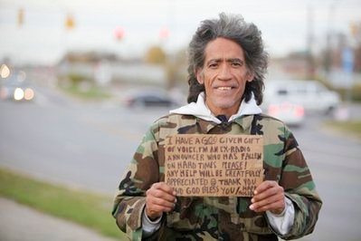 Homeless Man Who Got 7 Million YouTube Hits to Appear on 'Today'
