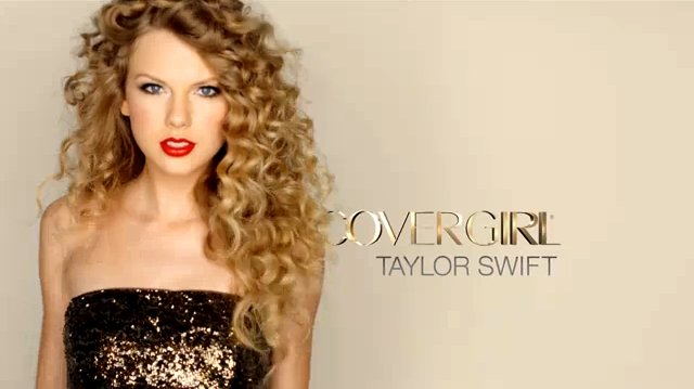 Taylor Swift Goes Glamour in New CoverGirl Commercial