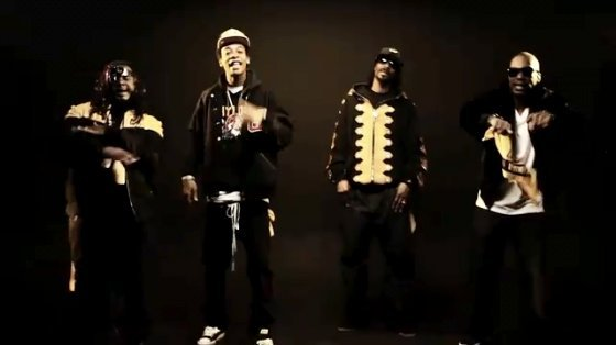 Video Premiere: Wiz Khalifa's 'Black and Yellow' Ft. Snoop Dogg and T-Pain