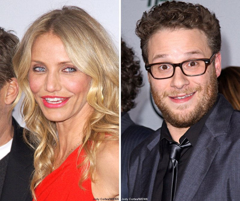Cameron Diaz and Seth Rogen Premiere 'The Green Hornet' in LA