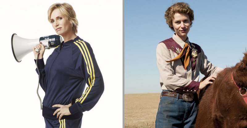 68th Golden Globes: Jane Lynch and Claire Danes Are Best TV Actresses