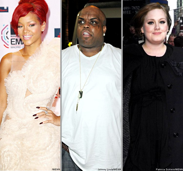 Rihanna, Cee-Lo and Adele to Perform at 2011 BRIT Awards