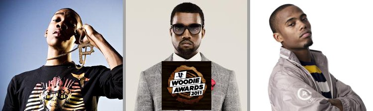Wiz Khalifa, Kanye, B.o.B Nab Woodie Awards Nominations