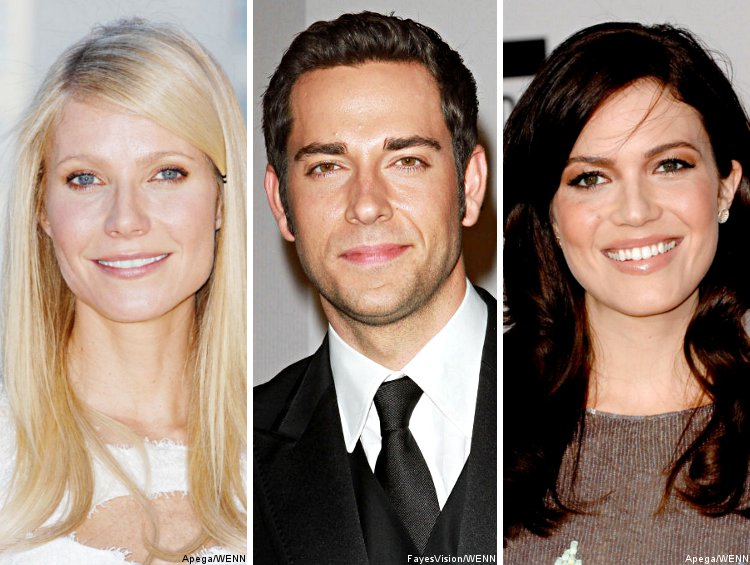 Gwyneth Paltrow, Zachary Levi & Mandy Moore Are Oscar Performers