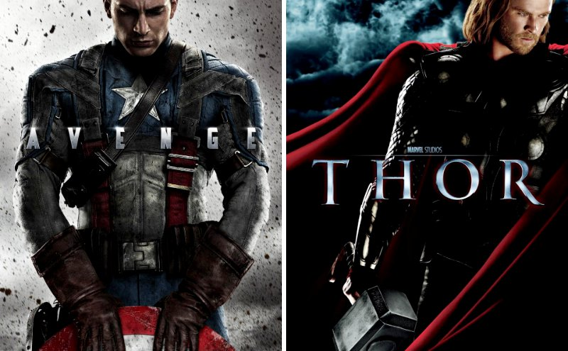 'Captain America' and 'Thor' Debut Super Bowl Spot