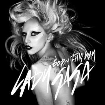 Lady GaGa Reveals Official Artwork of 'Born This Way'