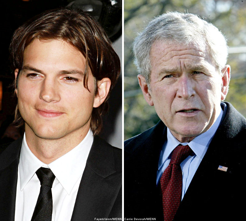 Ashton Kutcher: Bush Snubbed Me During Super Bowl