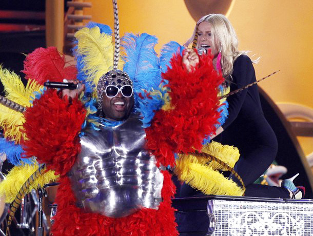 Grammy Awards 2011: Gwyneth Paltrow Went Wild on Cee-Lo Duet