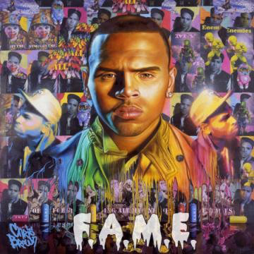 Official Cover Art of Chris Brown's 'F.A.M.E.'